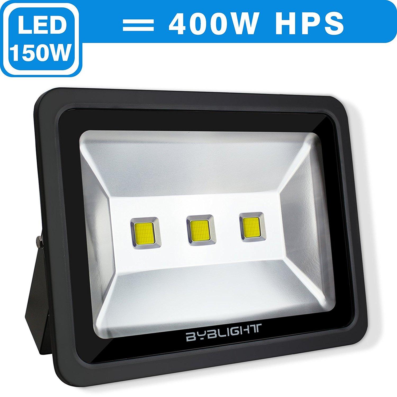 byb 150 watt super bright outdoor led flood light 400w. Black Bedroom Furniture Sets. Home Design Ideas